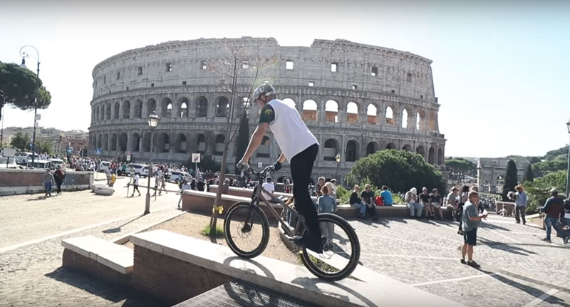 Video Roma Vision - John Langlois - Street Trial 2019